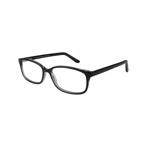 61 Black Glasses - Side View