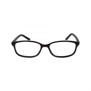 61 Red Glasses - Front View