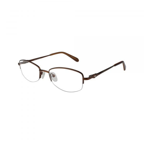 602 Brown Glasses - Side View
