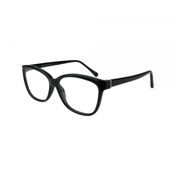 77 Black Glasses - Side View