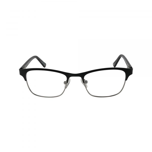 657 Black Glasses - Front View