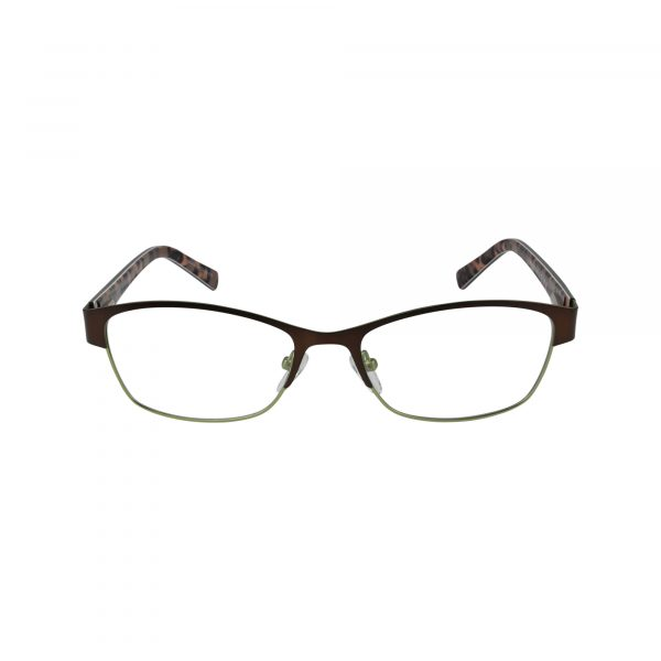 651 Brown Glasses - Front View