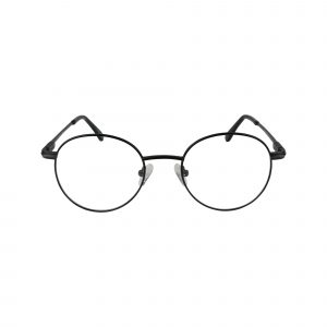 662 Black Glasses - Front View