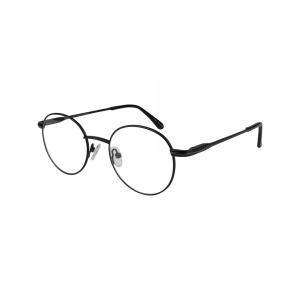 662 Black Glasses - Side View