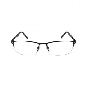 652 Black Glasses - Front View