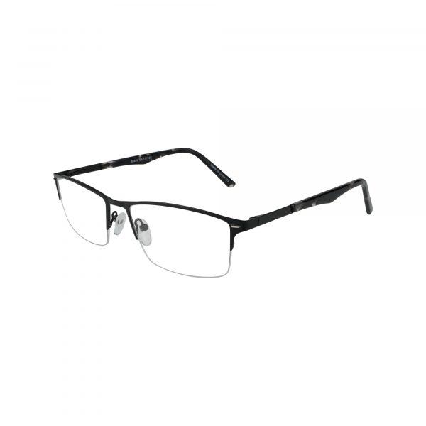 652 Black Glasses - Side View