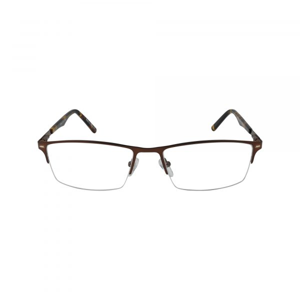 652 Brown Glasses - Front View