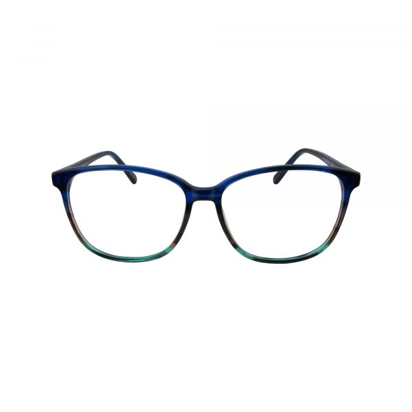 488 Blue Glasses - Front View