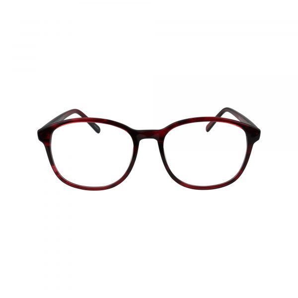 456 Red Glasses - Front View
