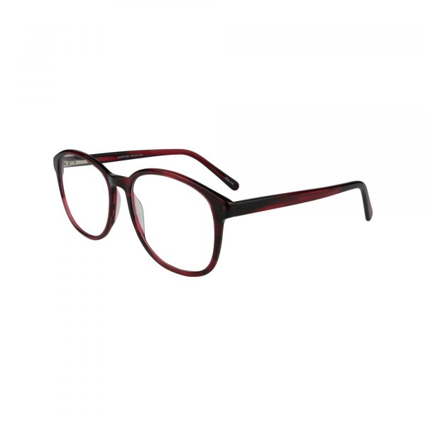 456 Red Glasses - Side View