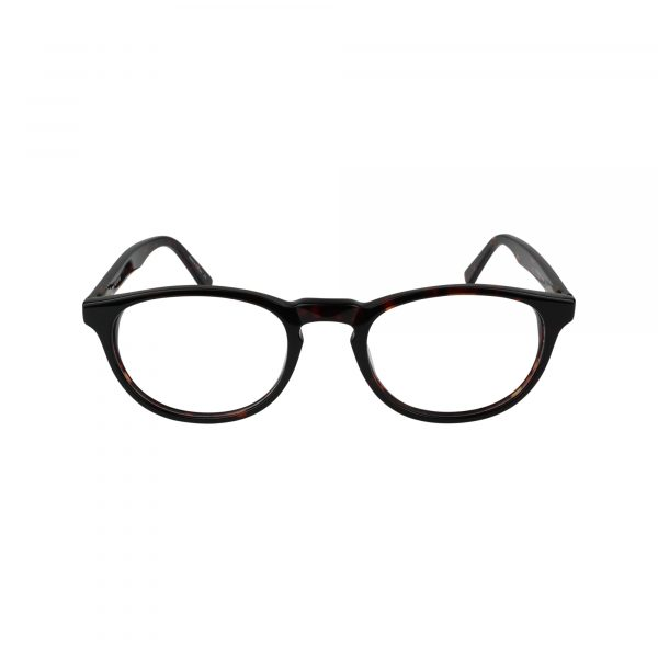 439 Red Glasses - Front View