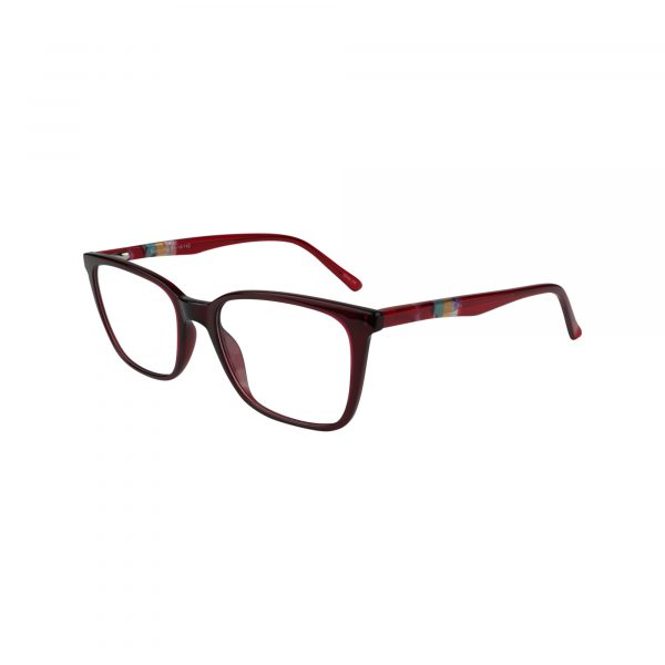 496 Red Glasses - Side View