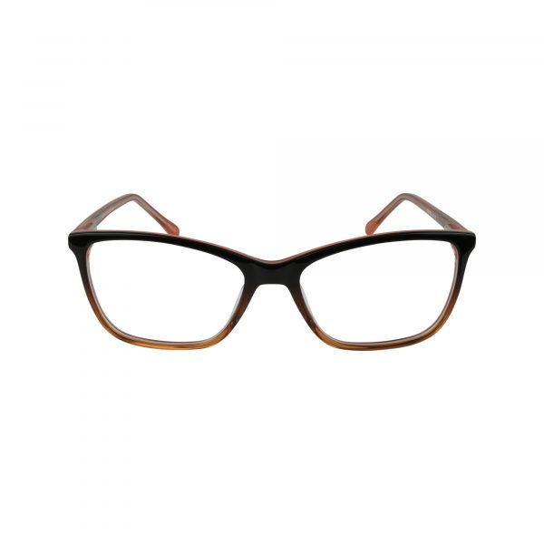 491 Brown Glasses - Front View
