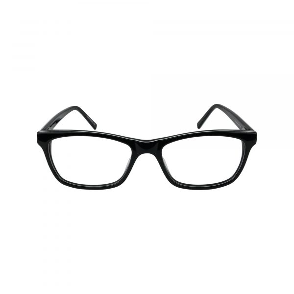 427 Black Glasses - Front View