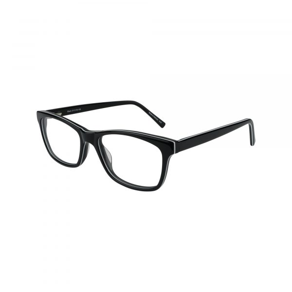 427 Black Glasses - Side View