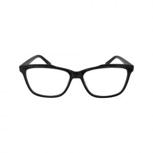 476 Black Glasses - Front View