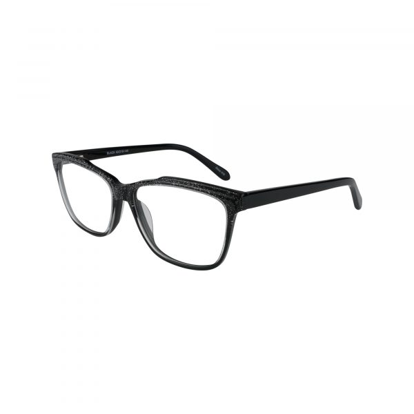 476 Black Glasses - Side View
