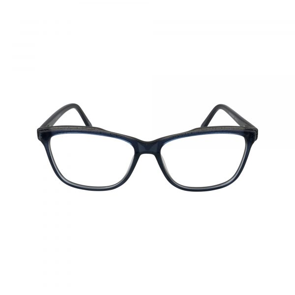 476 Blue Glasses - Front View