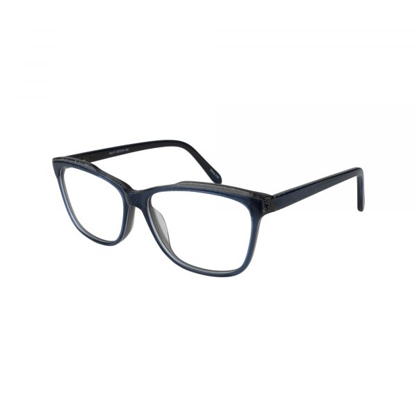 476 Blue Glasses - Side View