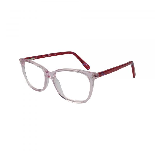 Kids 320 Pink Glasses - Side View