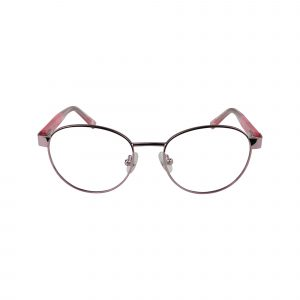 1641 Pink Glasses - Front View
