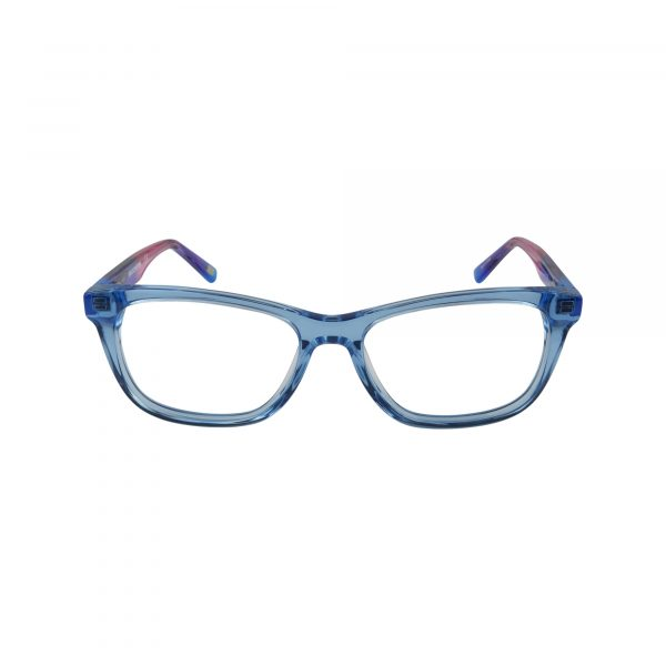 1643 Blue Glasses - Front View