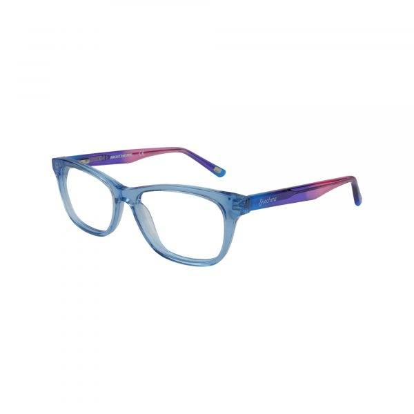1643 Blue Glasses - Side View