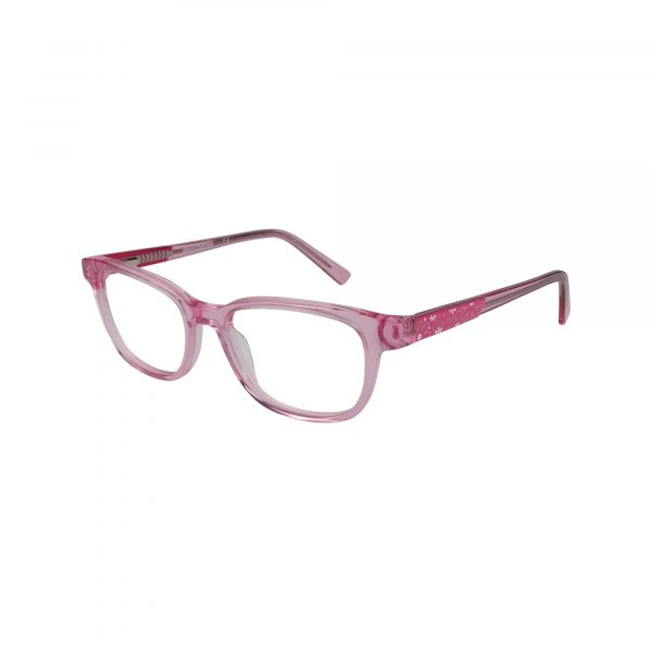 1639 Pink Glasses - Side View