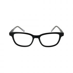 1639 Black Glasses - Front View