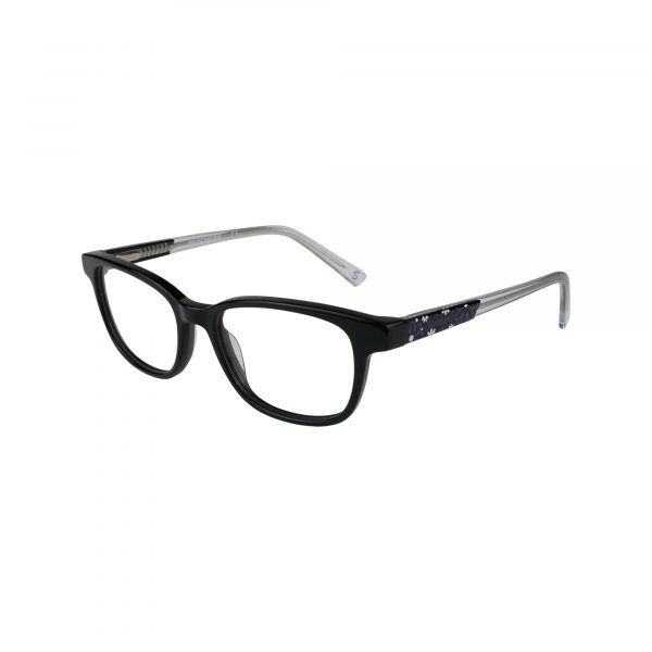 1639 Black Glasses - Side View