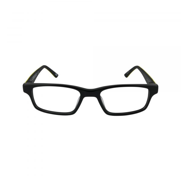 1161 Black Glasses - Front View