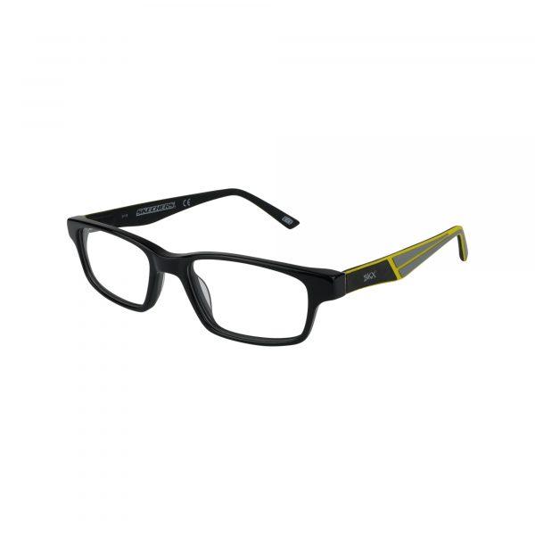 1161 Black Glasses - Side View