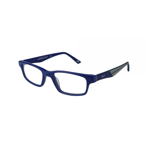 1161 Blue Glasses - Side View