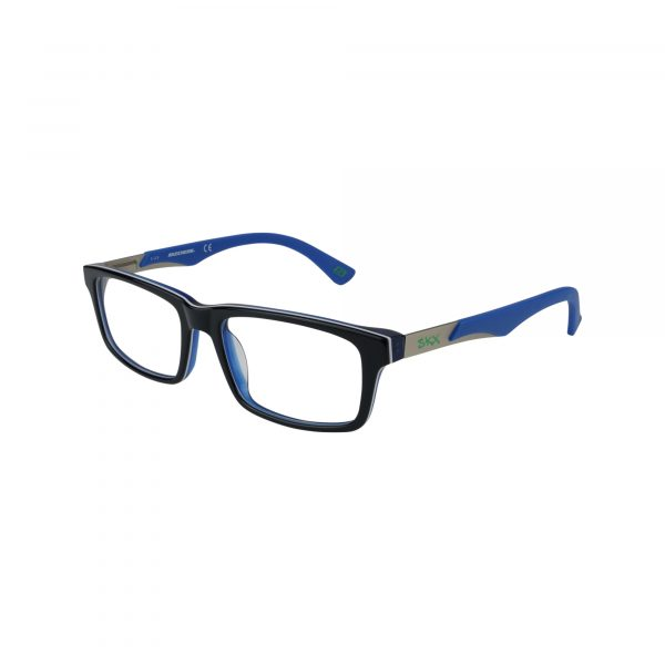 1095 Blue Glasses - Side View