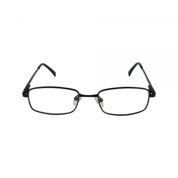 222 Black Glasses - Front View