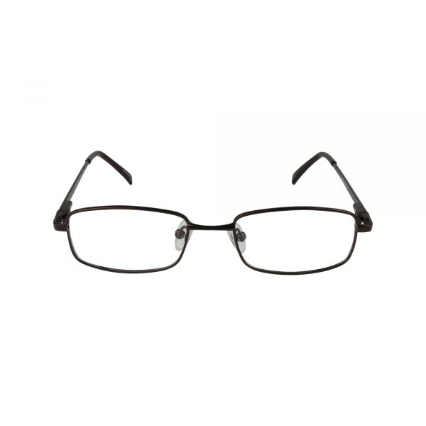 222 Brown Glasses - Front View