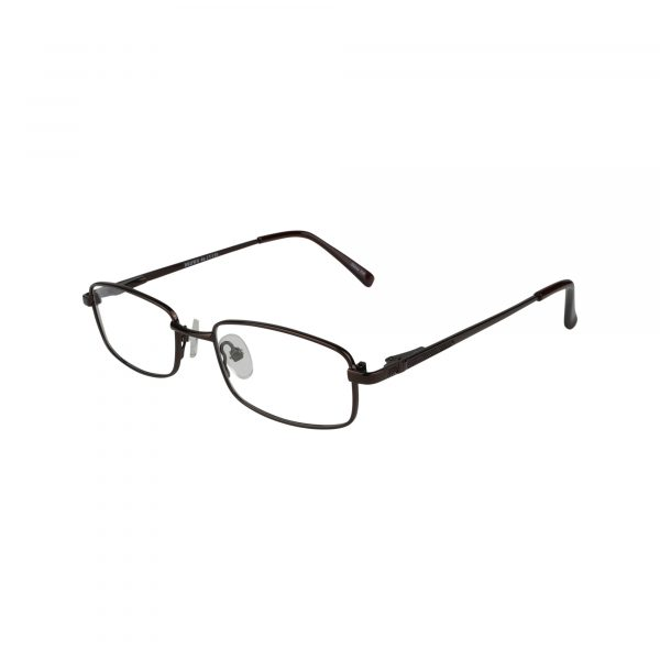222 Brown Glasses - Side View