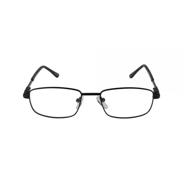 220 Black Glasses - Front View