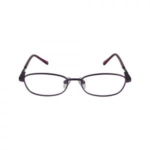 221 Purple Glasses - Front View