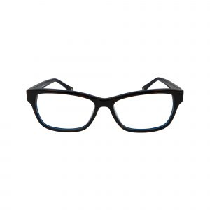 L616 Blue Glasses - Front View