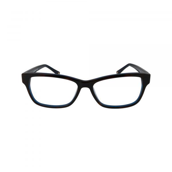 L616 Blue Glasses - Front View
