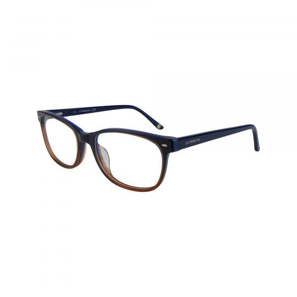 L607 Blue Glasses - Side View