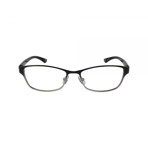 L614 Black Glasses - Front View