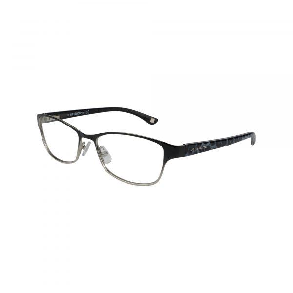 L614 Black Glasses - Side View