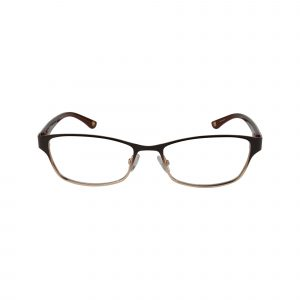 L614 Brown Glasses - Front View