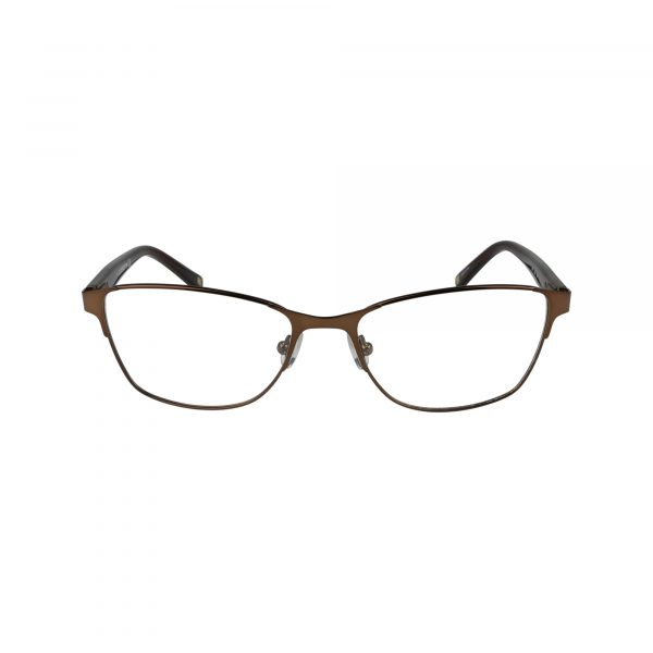 L617 Brown Glasses - Front View