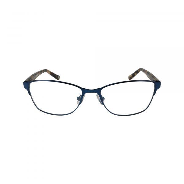 L617 Blue Glasses - Front View