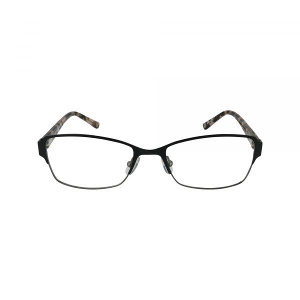 L622 Black Glasses - Front View