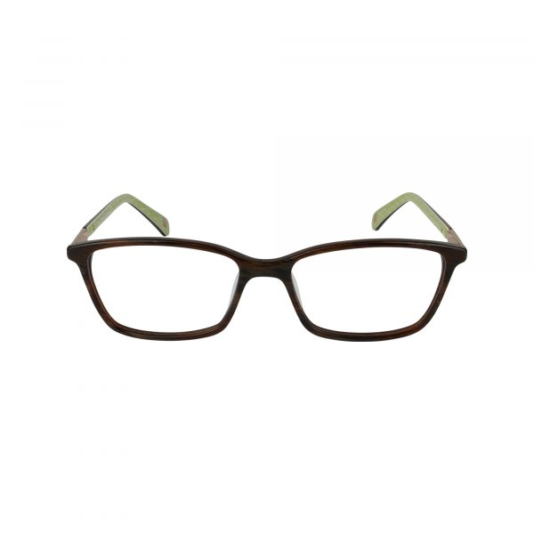 L448 Brown Glasses - Front View