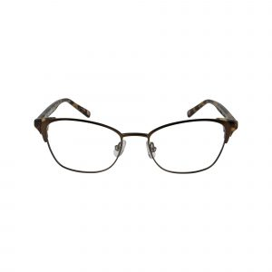 L454 Brown Glasses - Front View
